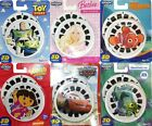 View Mater 3D Reels Cars Toy Story Barbie Dora Monsters Inc -  Finding Nemo New