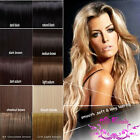 Premium Clip In Hair Extensions Full Head Weft real good as human hair