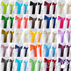 25 pieces Wedding Party Banquet 6x108inch Satin Chair Cover Sash Bow COLORS