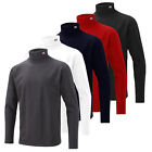 2014 Cutter & Buck Winter Golf Rollneck Mens Long Sleeve Shirt Winter Top