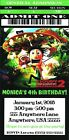 Cloudy with a Chance of Meatballs 2 Party Invitations/Thank You Notes-$0.99 Each
