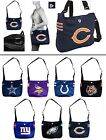 CHOOSE TEAM BIG 16.5 x 15in NFL New Shoulder Purse Book Gym Bag Laptop Case Tote
