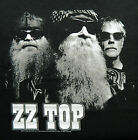 """New! ZZ Top """"B&W Photo 2012 Tour"""" Classic Rock Licensed Concert Adult T-Shirt image"""