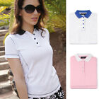 2013 Glenmuir Ladies Lexi Performance Golf Polo Shirt Converstitch Top
