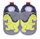 New Shoo Shoos Baby Shoes - Boys Green Dinosaur Design Leather BNWT ShooShoos