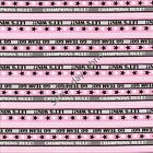 Go Team Pink - All Stars Collection - Benartex 5933-22 (sold by the 1/2 yard)