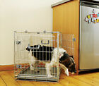 Two Door Dog Puppy Home Crate - Safe, Easy-Assembly, Good for Training - 5 Sizes