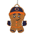 NFL Football Christams Tree Hanging Holiday Gingerbread Man Ornament - Pick Team