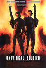 UNIVERSAL SOLDIER (JEAN CLAUDE VANDAME AND DOLPH LUNDGREN) FILM POSTER PRINT 01