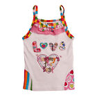 Brand new baby girls embroider appliqué summer singlet top clothing shirt tshirt