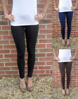 LONG Leggings HIGH RISE Cotton Elastane SIZES 8 - 26  Tall