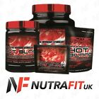 SCITEC Hot Blood 2.0 Complex Pre-Workout Stimulant Energy UK Stock