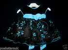 Baby Sky Blue Black Christmas Flower Girl Bridesmaid Xmas Guest Party Dress 0-24