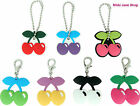 Pacha Cherry Keyrings Clips & Key Caps Holders - 8 to choose from - NEW