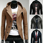 Fashion Design Slim Men's Hooded Blazer /Suits jacket