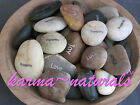 Imprinted Pocket RIVER ROCK Wish Stone - Inspirational Saying - You Pick Word