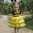DELUXE BUMBLE BEE GIRLS TODDLER FANCY DRESS COSTUME ALL SIZES