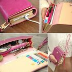 2014 new Leather Purse Case Cover For Iphone4 4s 5 Samsung Galaxy S2 S3 S4 Q