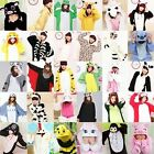 Animal Onesie Costume Kigurumi Pajamas All In One Sleepsuit Sleepwear Adult S~xl