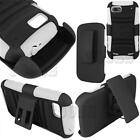 RUGGED HARD CASE COVER+BELT CLIP HOLSTER STAND ZTE WARP 2 SEQUENT N861 ACCESSORY