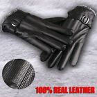 NEW MENS 100% REAL SHEEPSKIN LEATHER WINTER WARM WORK mans GLOVES Fashion Style