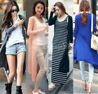 11 Colors Women Casual Long Sleeve Cardigan Knitted Outwear Sweater Coat Tops
