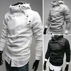 Mens New Long Sleeve Casual Pullover Hoodie Hooded Sweatshirt Coat Size S M L XL