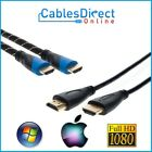 Kyпить Gold HDMI Cable 1.4 3d Lot PS3 Length 3ft 6ft 10ft  20ft 30ft 40ft 50ft 100ft на еВаy.соm