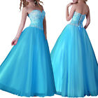 Beaded Sequins Corset Bridesmaid/Evening/Formal/Ball gown/Party/Prom Long Dress