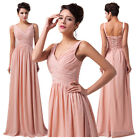 Hot Charming Women Deep V Sexy Chiffon Formal Ball Evening Prom Party Long Dress