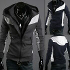 2014 NEW Cool Smart Youthful Casual Men's Stylish Slim Fit Hooded Coats Hoodies
