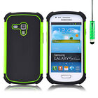 SHOCK PROOF CASE COVER FOR SAMSUNG GALAXY S4 / S3 / MINI + SCREEN GUARD &amp; STYLUS <br/> Selections: S3 S4 S5 S3 Mini S4 Mini S5 Mini S6