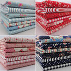 Lovely Flower Fat Quarter Bundles 100% cotton fabric patchwork quilting
