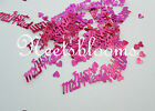 JUST MARRIED 14g FOIL CONFETTI TABLE SCATTER WEDDING DECORATIONS