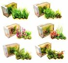 Artificial Aquarium Plant Cluster Fish Tank Decoration Ornament Plastic