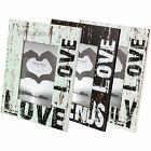 """Vintage Wooden Distressed Quote 4"""" x 6"""" Free-standing Photo Picture Frame Desk"""