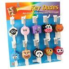 Key buddies, Key Dudes! Many to choose from! LED Torch light key cap. SALE price