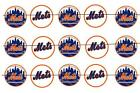 "#70 METS BASEBALL 1"" PRE CUT BOTTLE CAP IMAGES SCRAPBOOKING CRAFT PROJECTS"