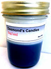 Desmond's Candles Homemade Scented England (Blueberry) Soy Jar Candle