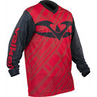 Valken Fate II Paintball Tournament Style Jersey Red Black BRAND NEW