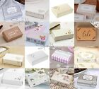 Wedding & Party Cake Boxes x10 - Shabby Chic Favour Box - Lots to Choose From!