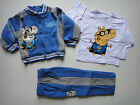 BNWT Peppa Pig George 3pcs fleece hooded hoodie tracksuit outfit set Size 1-5