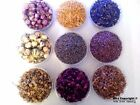 Various Dried Flowers- Rose Buds, Marigold Petals, Rose Petals, Lavender and etc
