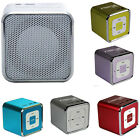 Fiesta Cube Enceinte Lecteur Nomade MP3 Radio FM carte SD iPhone Android M