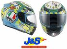 AGV K3 VALENTINO ROSSI WAKE UP MOTORCYCLE MOTORBIKE FULL FACE CRASH HELMET LID