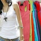 Sexy Women's Summer Casual Vest Sleeveless Slim Fit Blouse Tank Tops T-Shirt