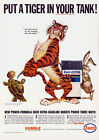 Esso put a tiger in your tank - Vintage Art Print Poster - A1 A2 A3 A4 A5