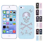 Cool Hollow Pierced Skull Skeleton Hard Snap On Case Cover For Apple iPhone 5/5S