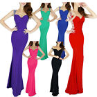 Unique Design!! Mermaid NEW Women's Sexy Backless Evening Long Prom Formal Dress