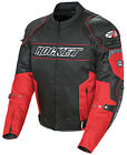Joe Rocket Resistor Mens Textile Motorcycle Riding Jacket Red / Black
